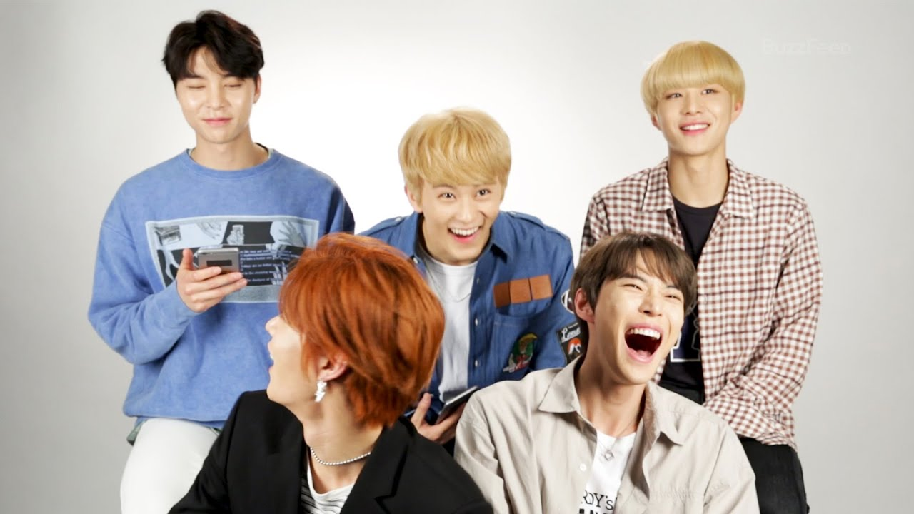 nct 127 takes buzzfeed
