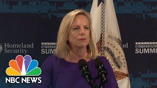 Homeland Security Sec. Kirstjen Nielsen On U.S. Election Meddling: 'It Was The Russians' | NBC News