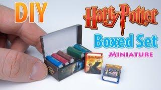 DIY Realistic Miniature Books | DollHouse | No Polymer Clay!