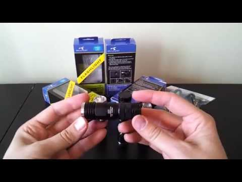 Skilhunt DS10, DS15, D20 and H02 headlamp (XM-L2) review, by selfbuilt