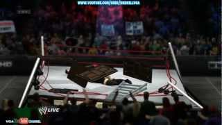 WWE 13 TLC Carnage And Fails Montage