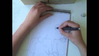 800 Subscribers Special - Drawing Bossun and Himeko - Sket Dance!
