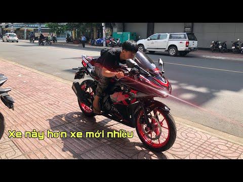 Mua Xe GSX R150 Cũ Nhưng Ngon Hơn Xe Mới Vì Nhiều Đồ Chơi - Xe Chưa Chạy RODAI | MinhBiker