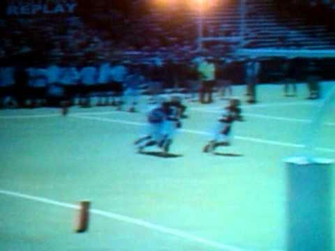 AHS football. Big hit