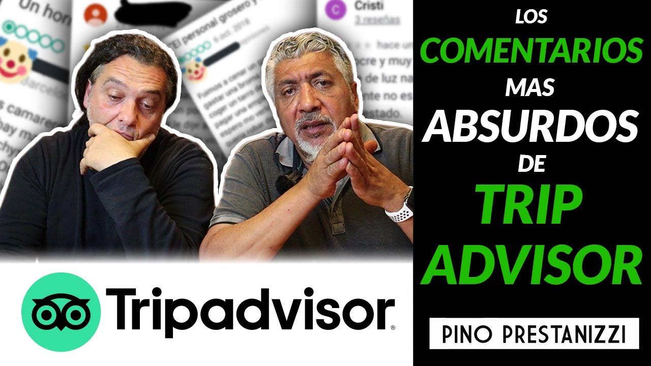 Reaccionando a las críticas más ABSURDAS de TripAdvisor #2 | Pino Prestanizzi
