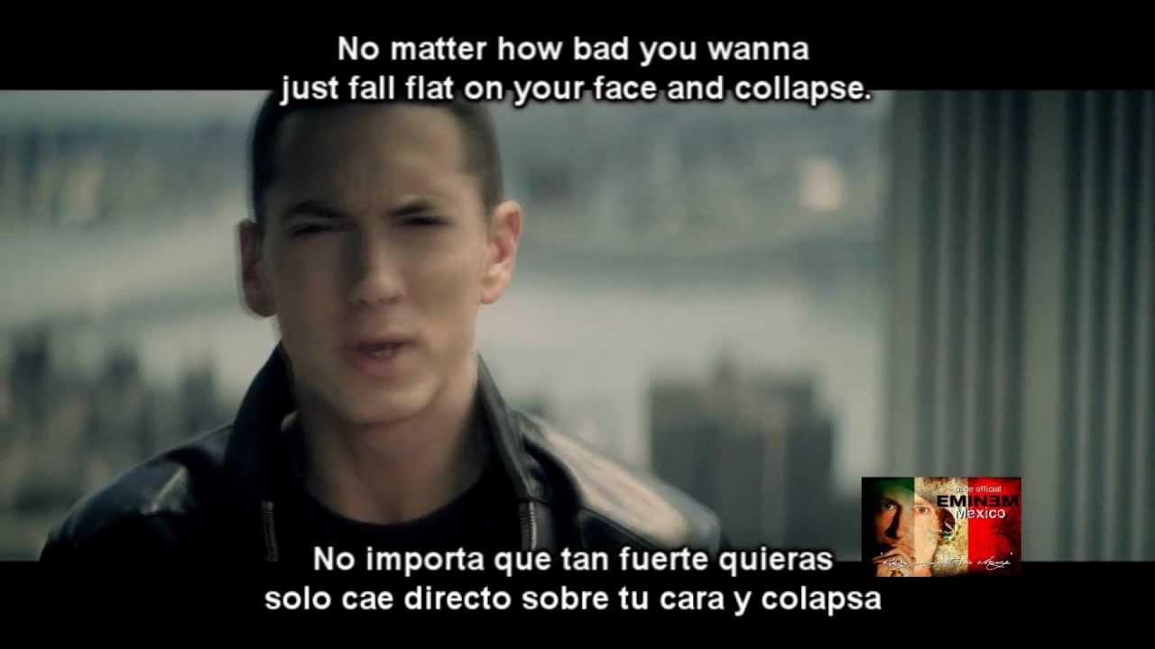 Till I Collapse Subtitulado Inglesespañol