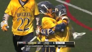 NCAA Men's Lacrosse First Round TV Recap -- Drexel 16, #4 Penn 11