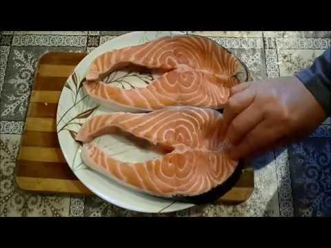 pavés-de-saumon-cuits-à-la-poéle-2017سمك-السلمون-مقلي