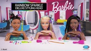 Barbie Deluxe Rainbow Styling Head