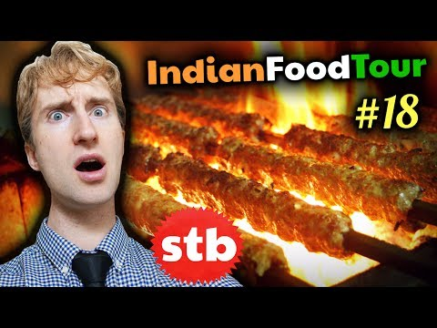 Old Delhi INDIAN STREET FOOD Tour #18 // SIZZLIN' Kebab & Biryani in India