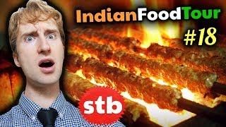 Old Delhi INDIAN STREET FOOD Tour #18 // SIZZLIN' Kebab & Biryani in India