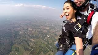 บินลัดฟ้ากับนางเอกสายลุย-บูม-สุภาพร-the-highest-skydives-jump-from-14,000-feet-4,300m