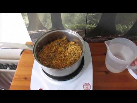 How to make a herbal glycerite