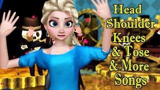 Head Shoulder Knees Song & More Songs | Kids Songs | Nursery Rhymes | Baby Songs | Children Songs