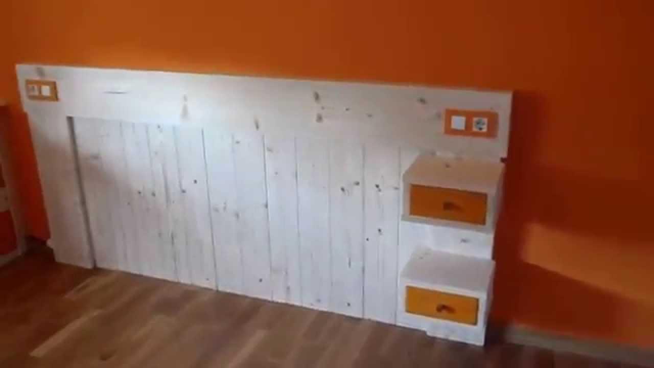 Cabecero de habitacion casero youtube - Como hacer un cabezal para la cama ...