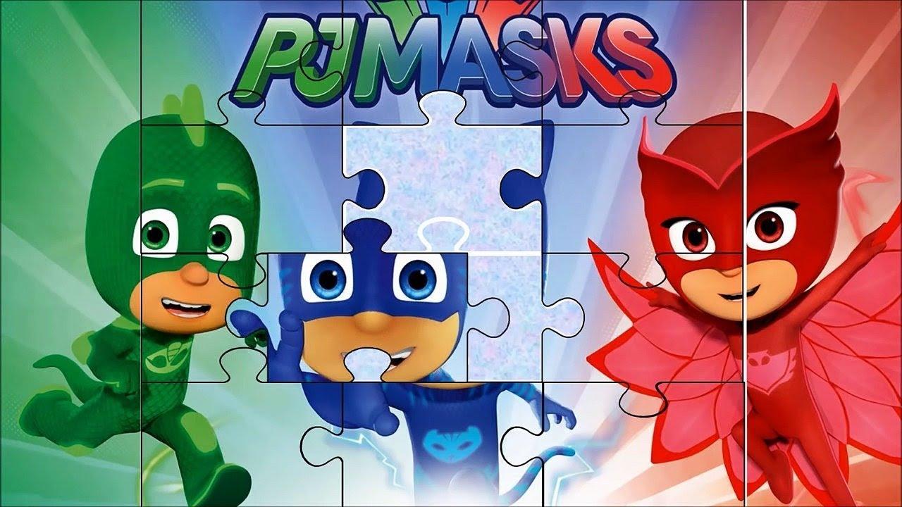 Игры Герои в масках онлайн. Детские игры пазлы. Герои в ...