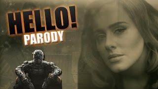 """Black Ops 3 - Adele """"Hello"""" PARODY"""