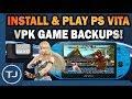 PS Vita Install & Play VPK Game Backups On 3.65/3.68 (VitaShell)