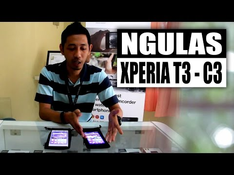 SONY Xperia T3 and SONY Xperia C3 - Ngulas - (Indonesia)