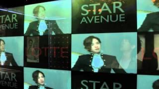 韓国・ソウルのロッテ免税店(明洞)と、化粧品の広告を撮影!