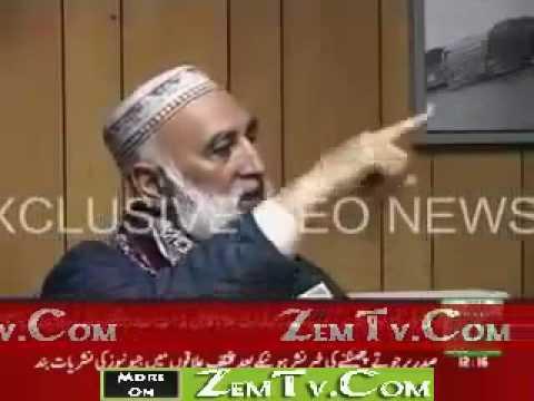 Baba Jee who threw Shoes at Zardari