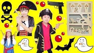 ★海賊ごっこ!「対決~!ゴーストシューター」ダンボール工作★ thumbnail
