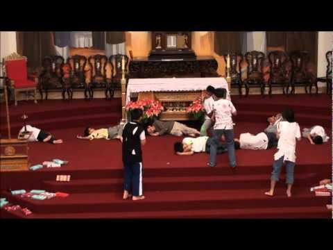 Hoat Canh Giang Sinh-Ben Song Babylon  TNTT GXCTTDVN 2010