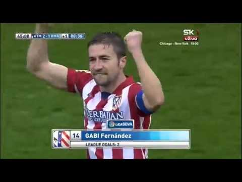 Gabi's goal vs real madrid