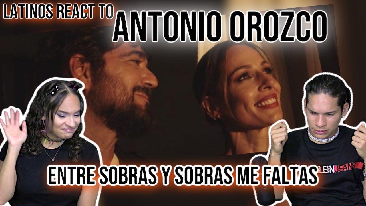 Download Latinos react to Antonio Orozco - Entre Sobras Y Sobras Me Faltas  SPANISH REACTION/ REVIEW