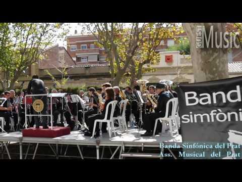"""Associació Musical del Prat: Banda Sinfónica """"Club Amigos Radio Andorra"""" Pasodoble de Martín A. P."""