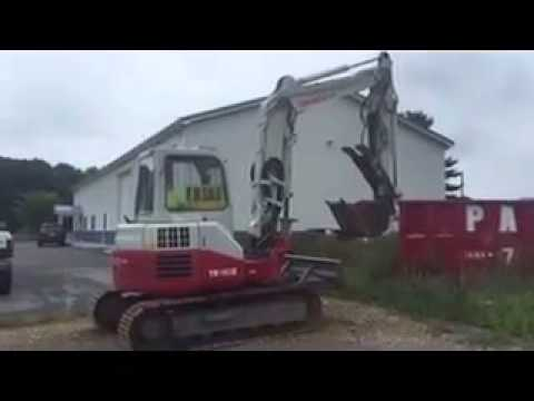2010 Takeuchi TB180 FR 18,000 Lb. Excavator Being Sold at Auction 8-20-15