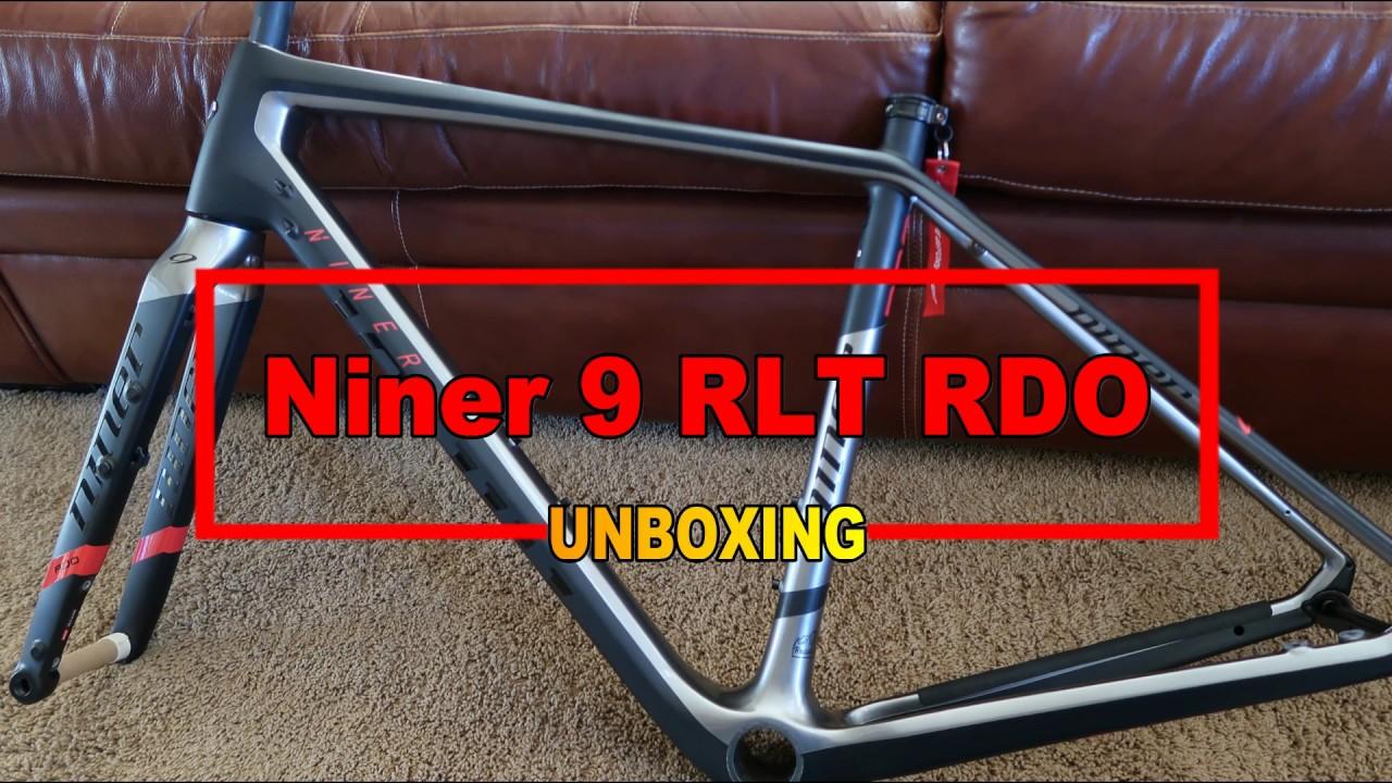 NEW Niner 9 RLT RDO frameset unboxing...um take 2!!! - YouTube
