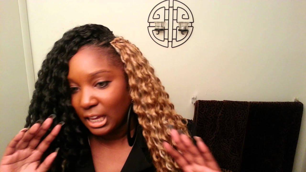 Crochet Hair Maintenance : Bahama Curl Crochet Braid Maintenance - YouTube