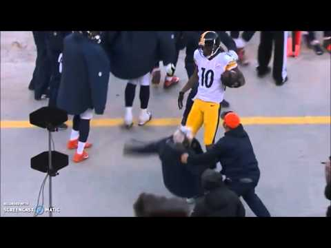 Wade Phillips gets run down by Steelers player (1/17/16)