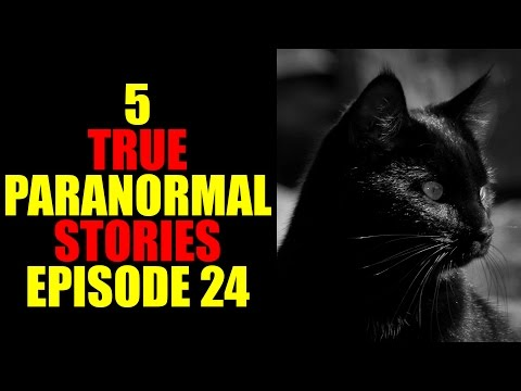 5 TRUE PARANORMAL STORIES EPISODE 24
