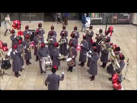 The Royal Artillery Band at Bristol Poppy Day 2017