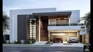 Ideas de Fachadas de casas hermosas fachadas Modernas Minimalistas # casasmodernas #minimalisthouses YouTube