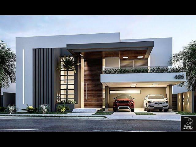 Ideas de Fachadas de casas hermosas fachadas Modernas Minimalistas #casasmodernas #minimalisthouses YouTube