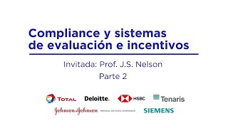 Compliance and evaluation & incentive systems. Part 2