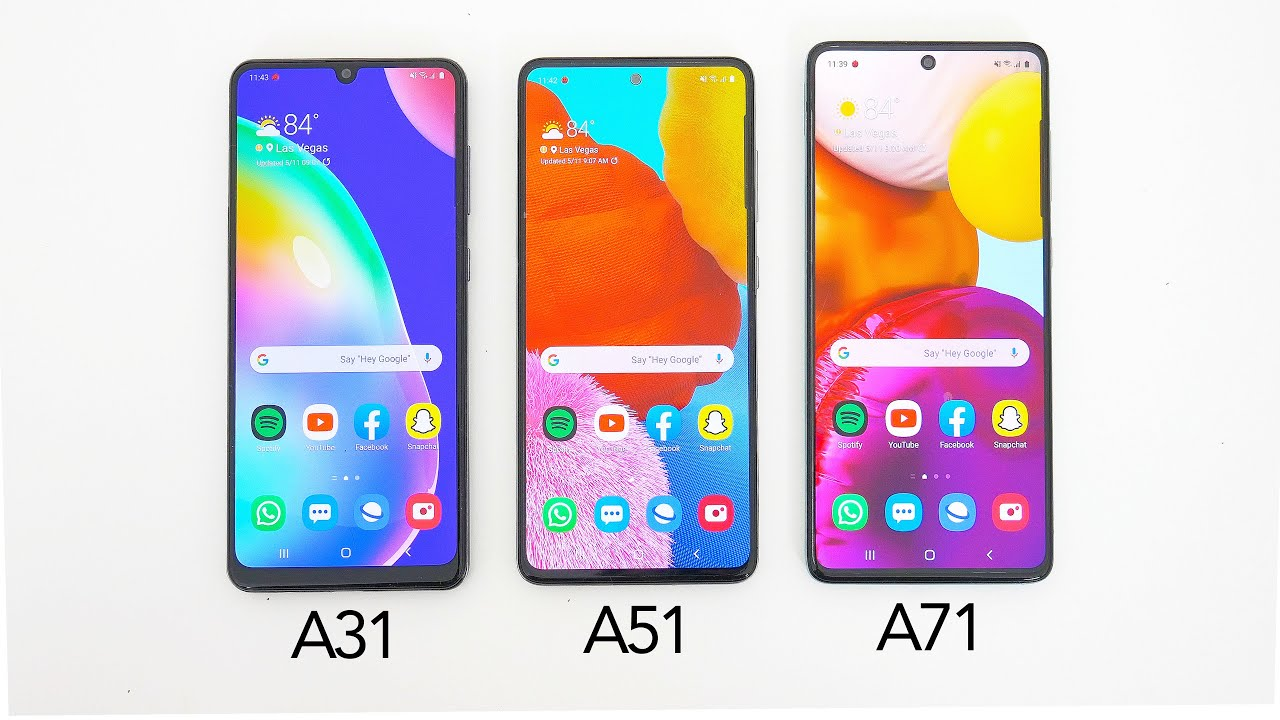 Samsung Galaxy A31 Test