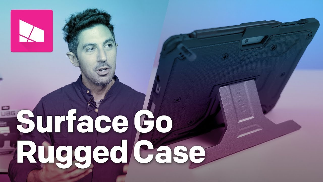 Uag Metropolis Surface Go Case Review 70 Well Spent If You Need Rugged Protection Windows Central