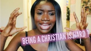 One of Sarah Destiny's most viewed videos: BEING A CHRISTIAN IS HARD | SAIRASSECRET