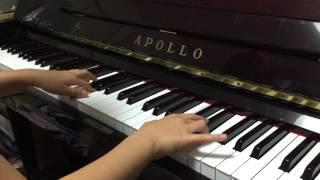2015/1/11 ヤマノジュニアピアノフェスティバル2014予選直前の練習風景 ...