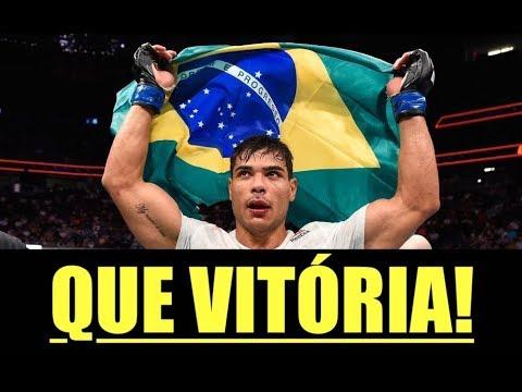 Após nocaute no UFC 226, Paulo Borrachinha desafia Chris Weidman