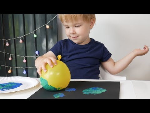 Balloon Stamping: Art Projects for Kids