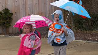 Superhero & Astronaut Kids Raincoats & Umbrellas from B. Boutique