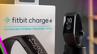 Fitbit Charge 4 // First Impressions, Setup, and First Run & Ride!