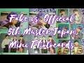 Comparison Guide   Fake vs BTS 5th Muster Japan Mini Photocards
