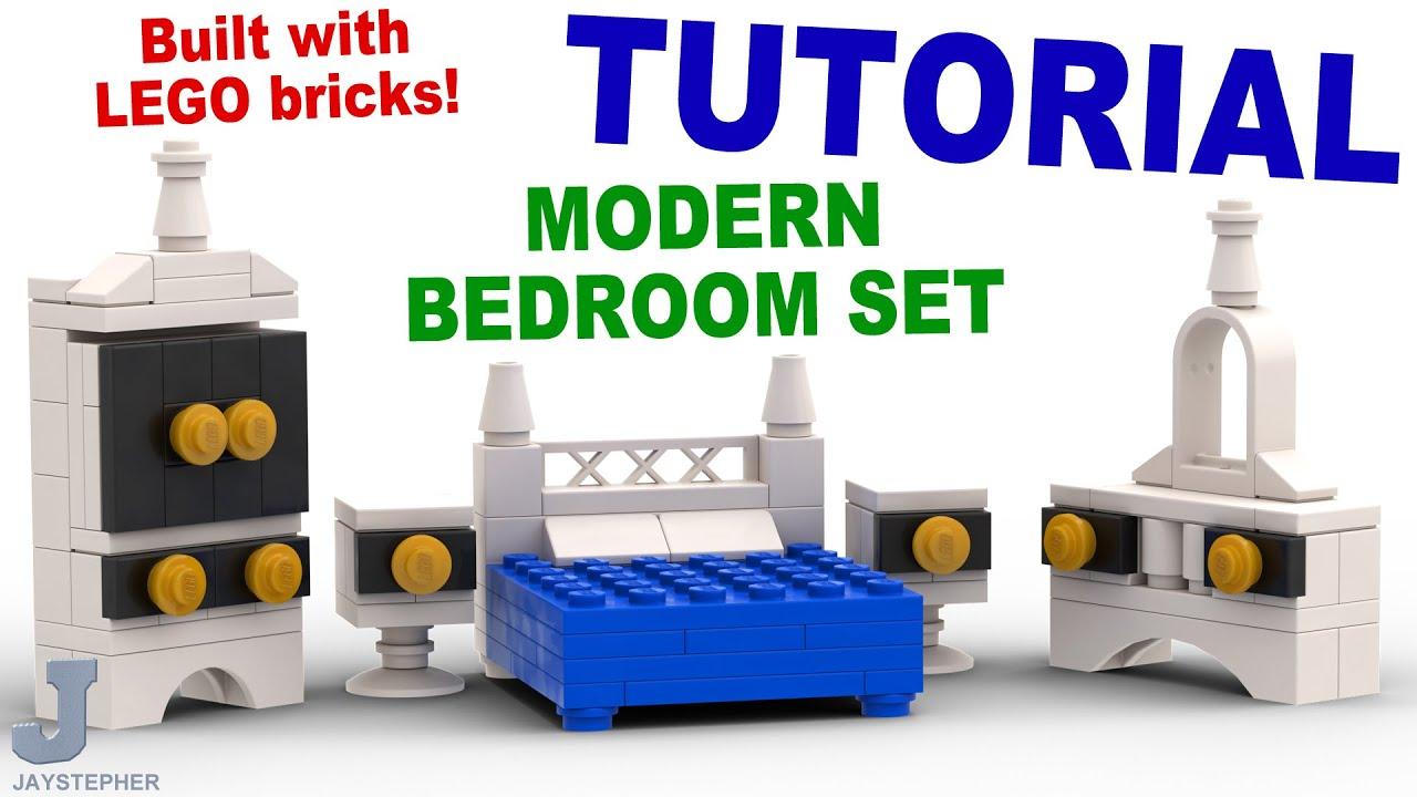 Lego Bedroom Tutorial Modern Lego Bedroom Set Cc Youtube