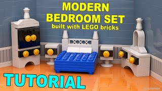 Tutorial - Modern Lego Bedroom Set [cc]